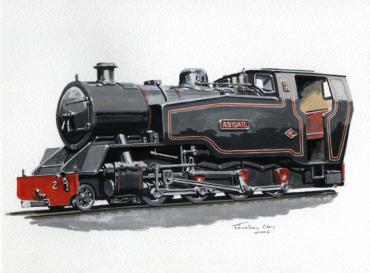 Proposed BVR No. 2, 2-8-0T 'Abigail'